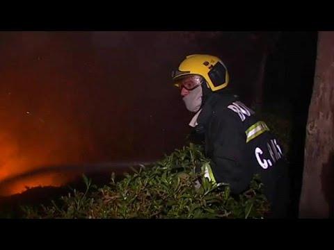 «Θα χρειαστούν πολλές μέρες για να σβήσει η πυρκαγιά» λέει ο πρωθυπουργός της Πορτογαλίας…