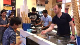Turkish ice cream in India The most interesting show entertainment excitement comedy v5
