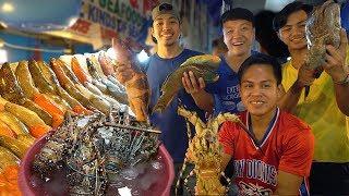 Video FRESHEST SEAFOOD FEAST! INSANE Seafood Meal at Dampa Market Manila Philippines MP3, 3GP, MP4, WEBM, AVI, FLV Februari 2019