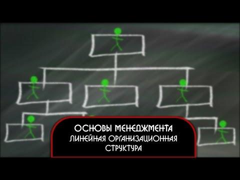 Основы менеджмента. Линейная организационная структура.