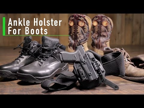 Can You Carry An Ankle Holster With Boots? - Alien Gear Holsters