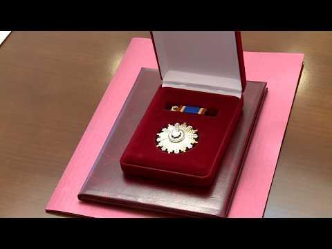 Президент Республики Молдова вручил Орден Почёта Послу Республики Беларусь
