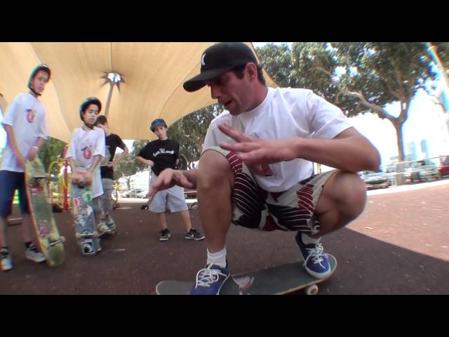 スケートボード動画