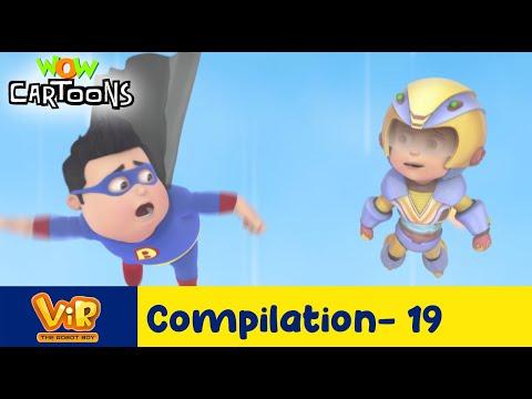 Vir the robot boy | Action Cartoon Video | New Compilation - 19| Kids Cartoons | Wow Cartoons