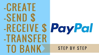 Video How To Set Up A Paypal Account | send, receive, and transfer money MP3, 3GP, MP4, WEBM, AVI, FLV Januari 2019