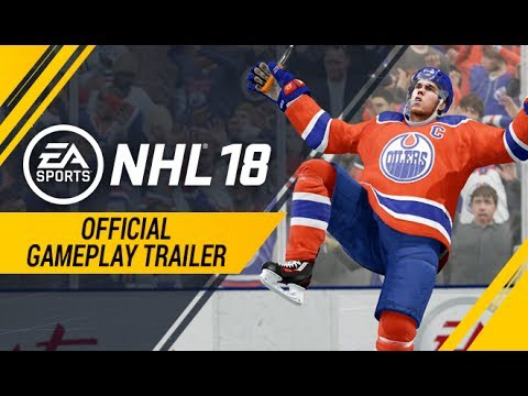 NHL 18 | Official Gameplay Trailer | Xbox One, PS4 (видео)