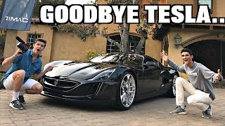 Video Here's Why The 1,200 HP RIMAC Concept One Is The Ultimate Hypercar!! MP3, 3GP, MP4, WEBM, AVI, FLV November 2017