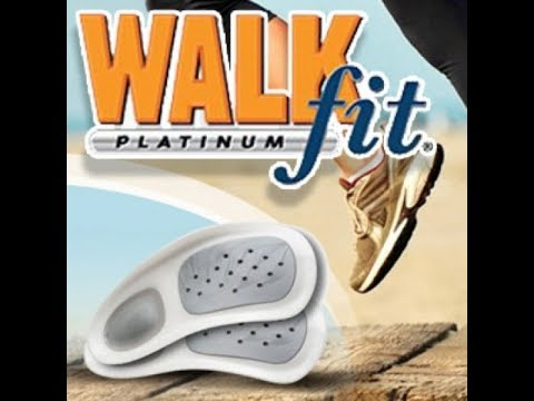 WalkFit Platinum Insoles review