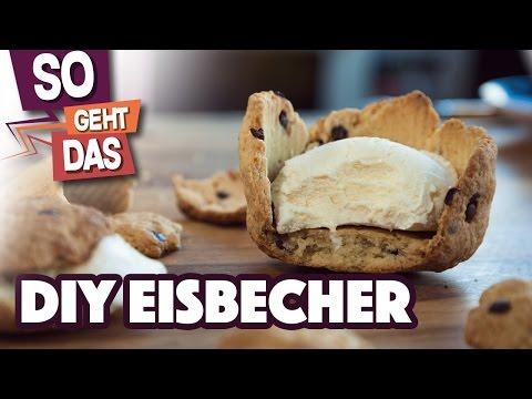 GEILEN Cookie-Eisbecher selber machen!