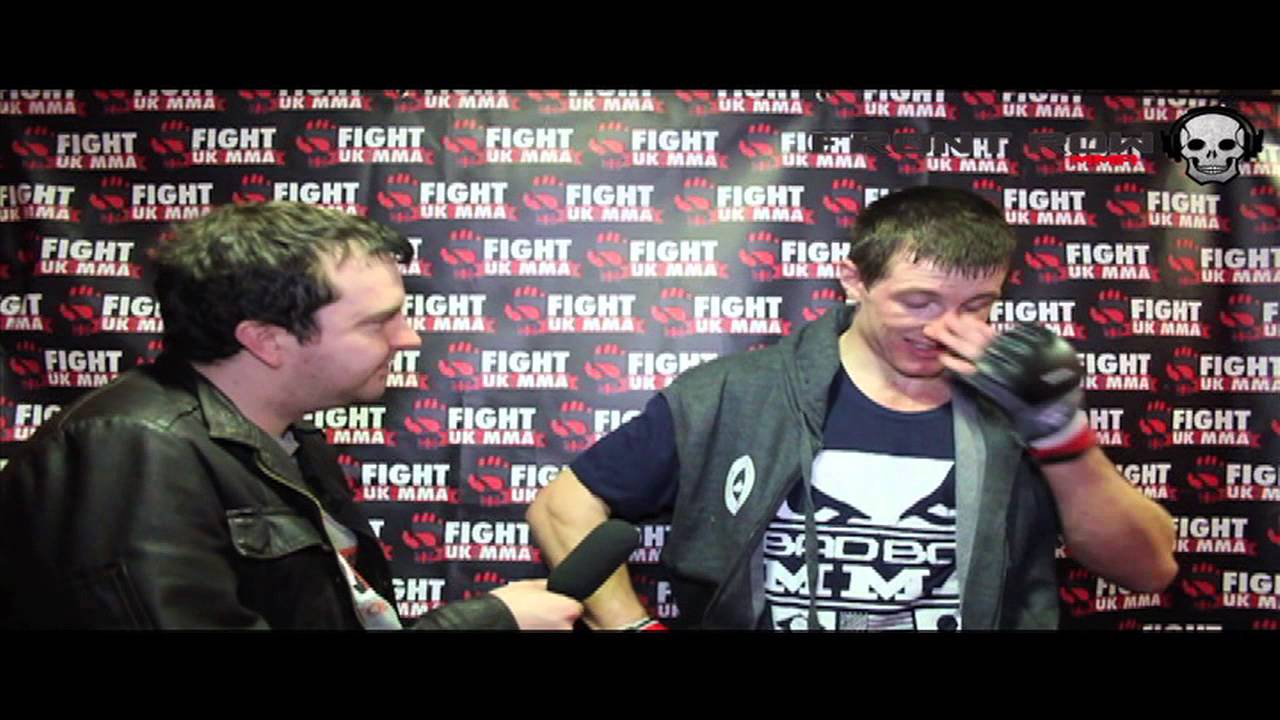 UTC's Kev O'Kane post fight interview at Fight UK 9