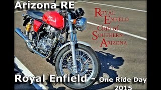 6. One Ride 2015 - Royal Enfield Club of Southern Arizona