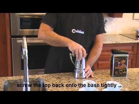 How To Use A Stove-top Espresso Coffee Maker