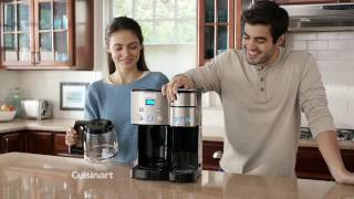 Coffee Center™ 12 Cup Coffeemaker and Single-Serve Brewer Commercial Video Icon