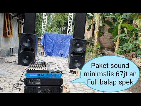 Paket Sound 67jt kirim Demak jateng Bpak Aksin