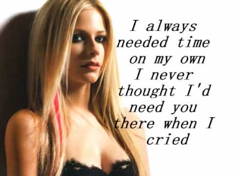 Avril Lavigne - When you're gone(Lyrics + Download Link)