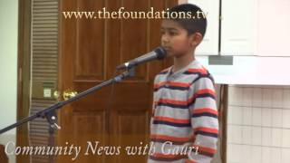Kids Reciting Shlokas