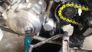4. Oil and filter change yamaha warrior 350