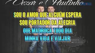 César E Paulinho   Viajante Solitário