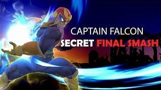 Captain Falcon's secret final smash.