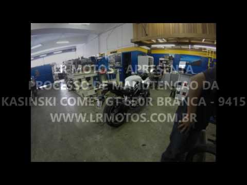 LR Motos - Processo de Manutenção da Kasinski Comet GT 650R Branca - 9415