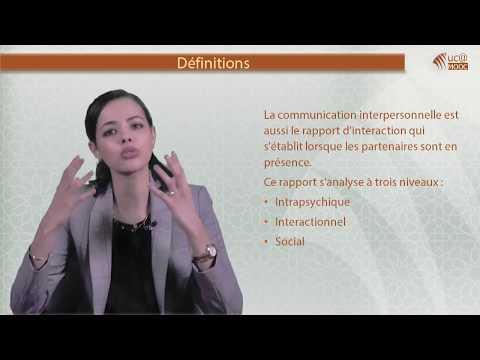 3. 1. Définitions et  bases de la communication interpersonnelle