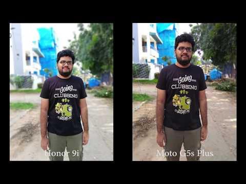 Honor 9i vs Moto G5S Plus Camera Comparison