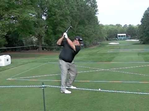 Kevin Stadler, PGA Tour Slow Motion Iron Shot 2012 Wells Fargo