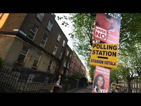 Irish abortion referendum Tweets point to gender divide   The Cube (видео)