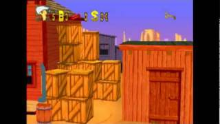 Classic Game - Lucky Luke (Game) Playstation - Part 1