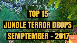 TOP 15 JUNGLE TERROR DROPS  SEPTEMBER  2017
