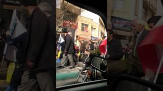 فیلم از کسادی مراسم ۲۲ بهمن در میدان تخچی اصفهان