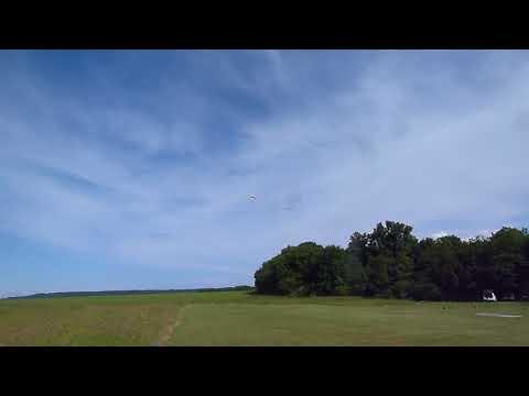 1er remorquage planeur pilote fred et nicolas