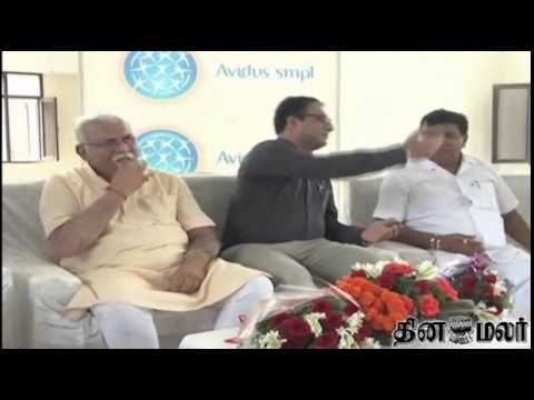 Dinamalar - Modi's old aide Khattar set to be Haryana CM - Dinamalar Oct 21st 2014 Tamil Video News.
