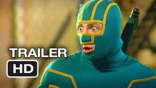 KickAss 2 Official Theatrical Trailer 2 2013  Chloe Moretz Movie HD