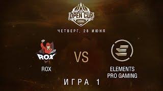 LCL OC 2018: Групповая стадия. ROX vs EPG, Игра 1 | Неделя 2, День 1. Bo3 / LCL