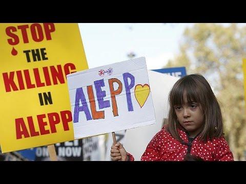 Κινητοποιήσεις για τα παιδιά της Συρίας στο Λονδίνο