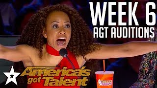 Video America's Got Talent 2018 Auditions | WEEK 6 | Got Talent Global MP3, 3GP, MP4, WEBM, AVI, FLV Agustus 2019