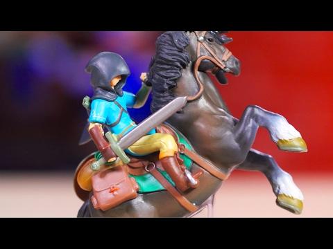 Zelda: Breath of the Wild Amiibo Set Unboxing (видео)