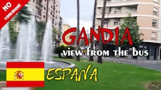 Gandia Spain  city photo : Gandia - Spain. View from the bus window