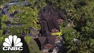 John Paul Dejoria's Secret Island Hideaway With Opium Beds | Secret Lives Super Rich | CNBC Prime