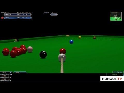 Virtual Pool 4 Blog - #12 Snooker - VP4 Online Snooker against Fluke[FIN]