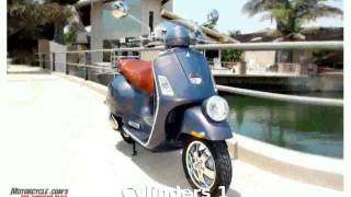 8. 2008 Vespa GTV 250 - Details and Specification