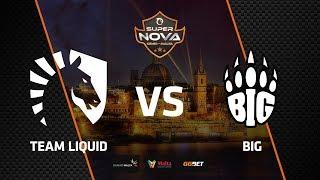 Liquid vs BIG, map 2 overpass, SuperNova CS:GO Malta