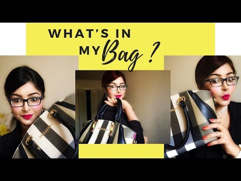 WHAT'S IN MY 👜 BAG 2018 || Style A Silhouette