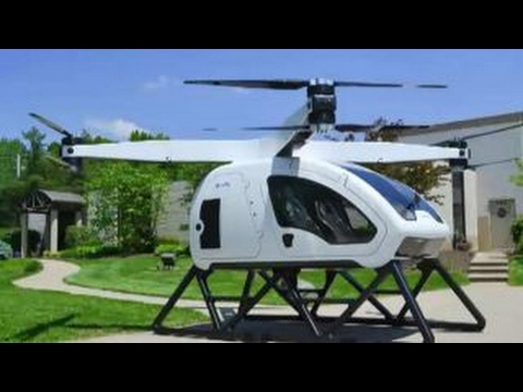 SureFly 2-passenger Octocopter