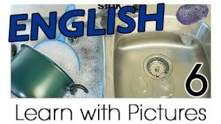 English Kitchen Vocabulary, Learn English Vocabulary With Pictures
