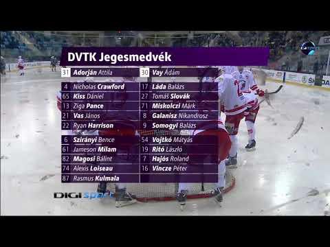 22.forduló: MAC Újbuda - DVTK Jegesmedvék 4-2