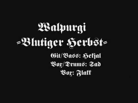 Walpurgi - Blutiger Herbst
