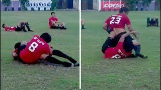 Video Hamka Hamzah 'Bergulat' dengan Syamsul Chaeruddin saat Latihan MP3, 3GP, MP4, WEBM, AVI, FLV Oktober 2017