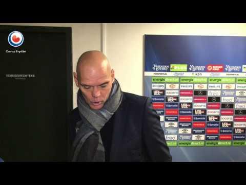 Jurgen Streppel na PSV - SC Heerenveen (OF)